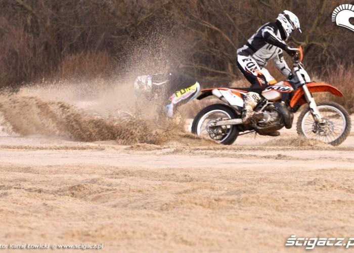 nawracanie KTM 250 Porownanie