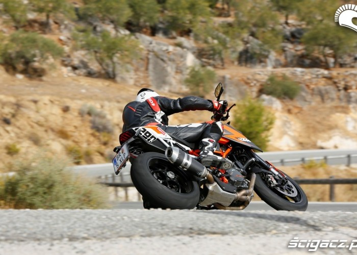 Serpentyny KTM SuperDuke 1290 R