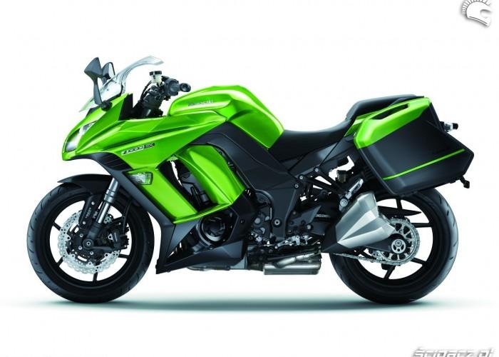 Lewy bok Kawasaki Z1000SX 2014