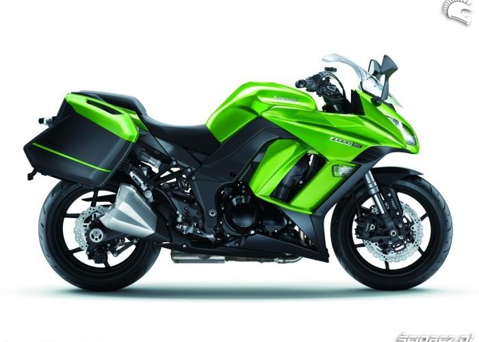Prawy bok Kawasaki Z1000SX 2014