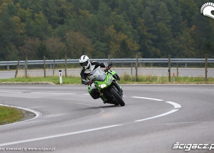 Serpentyny 2014 Kawasaki Z1000SX