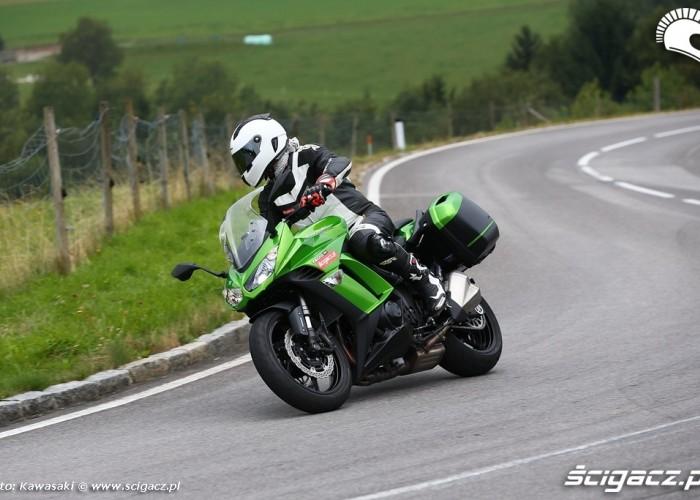 Zmiana kierunku 2014 Kawasaki Z1000SX