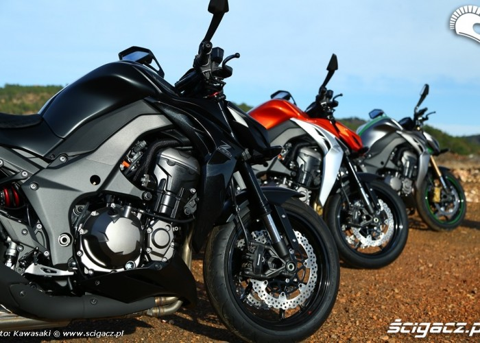 Kolory Kawasaki Z1000 MY 2014