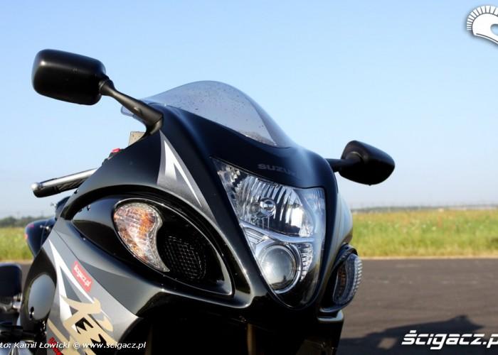 wlot powietrza Suzuki Hayabausa