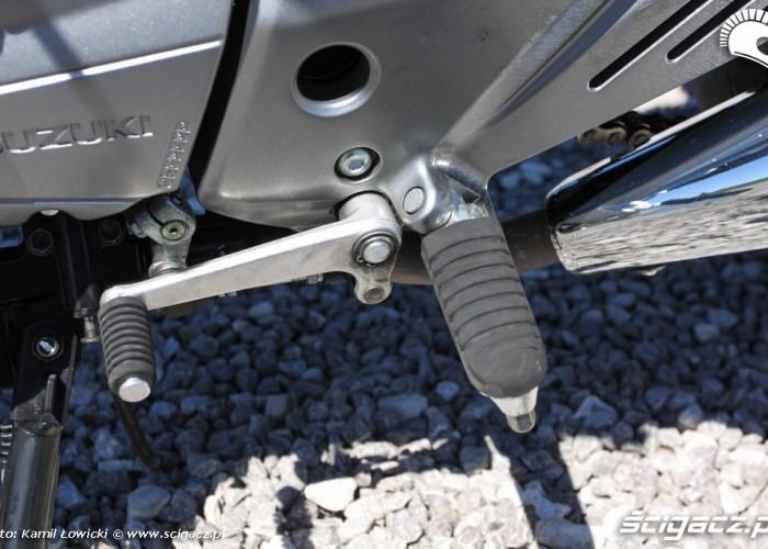 dzwignia zmiany biegow Suzuki Inazuma 250