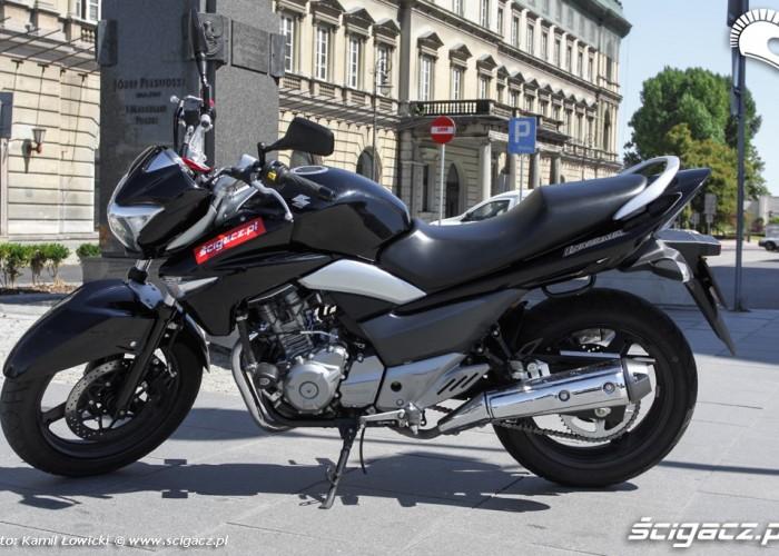 pl pilsudskiego Suzuki Inazuma 250