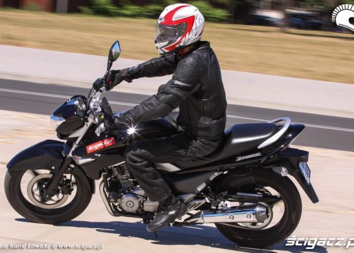 po luku Suzuki Inazuma 250