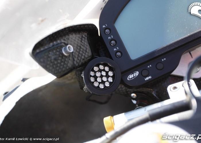 Lampka biegu Yamaha R6 Supersport