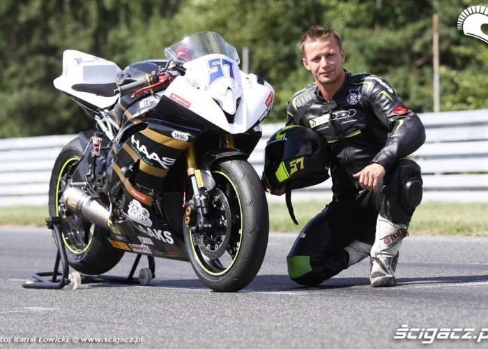 Sebastian Zielinski i jego Yamaha R6