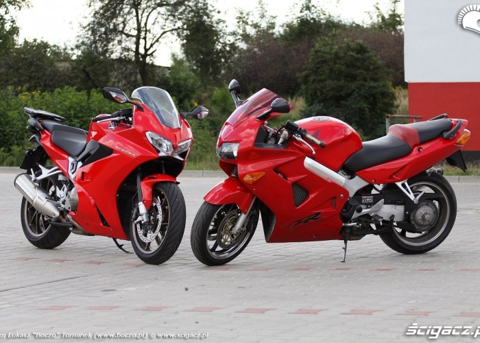 motocykle VFR 2014