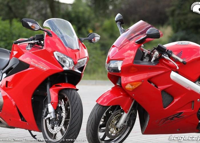 przod motocykli VFR
