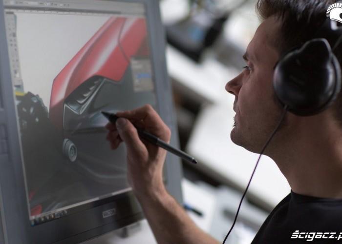 BMW S1000RR MY 2015 projektowanie