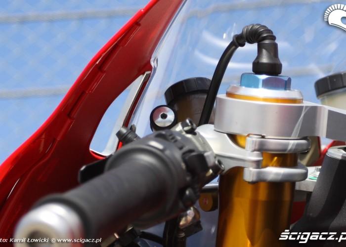 elektroniczna regulacja przedniego zawieszenia Ducati Panigale S Scigacz pl