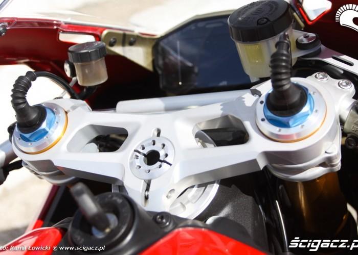 regulacja przedniego zawieszenia Ducati Panigale S Scigacz pl