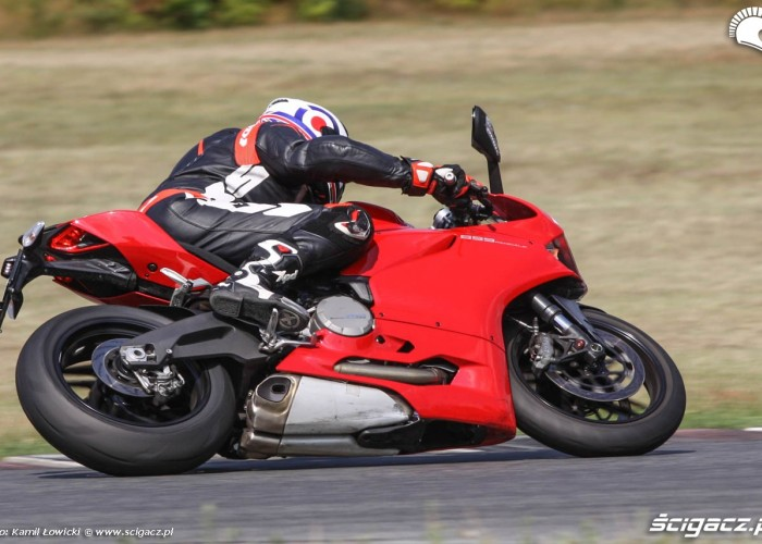 Ducati 899 Panigale 2014 Poznan
