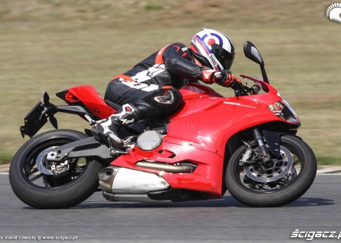Ducati 899 Panigale 2014 Tor Poznan