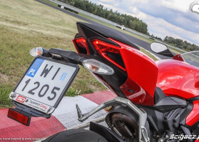 Tylna lampa Ducati 899 Panigale
