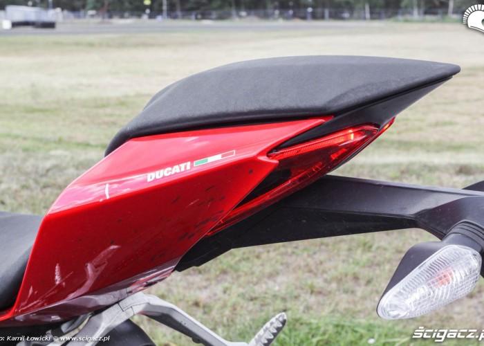 Tylne siedzenie Ducati 899 Panigale
