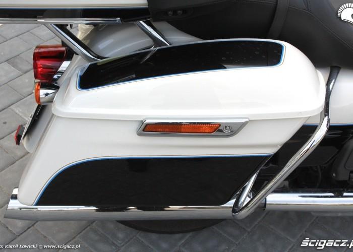 Boczne kufry Harley Davidson Electra Glide Ultra Classic MY 2014