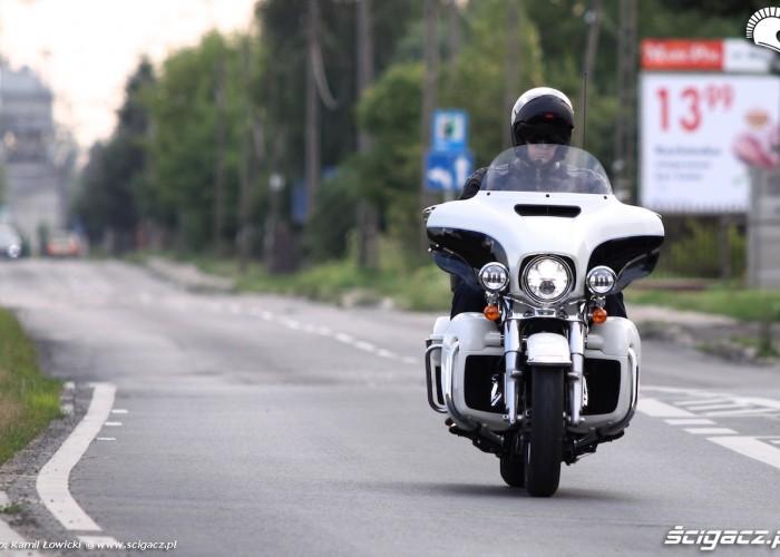 Harley Davidson Electra Glide Ultra Classic 2014 trasa