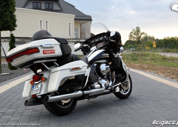 Harley Davidson Electra Glide Ultra Classic prezencja