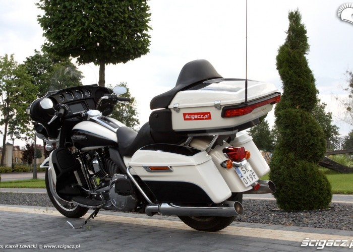 Harley Davidson Electra Glide Ultra Classic statycznie