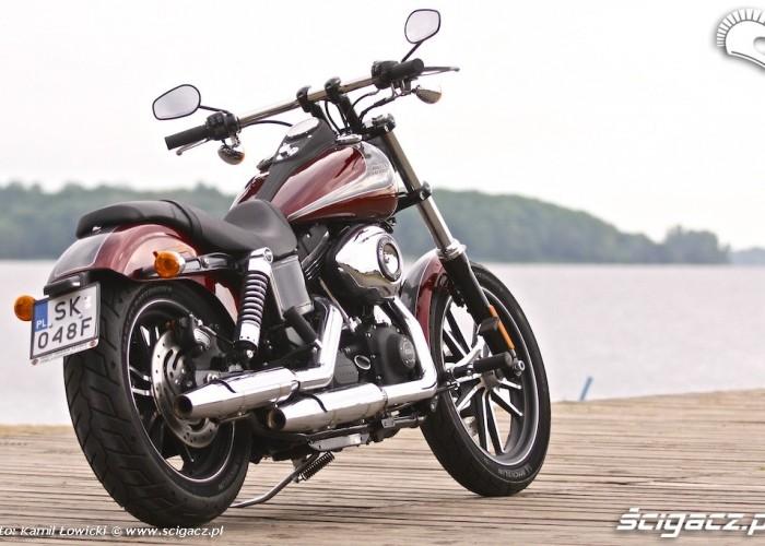 Harley Davidson Street Bob Special Edition 2014 FXDBB statycznie