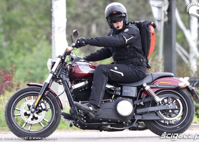 Harley Davidson Street Bob Special Edition 2014 wyjazd