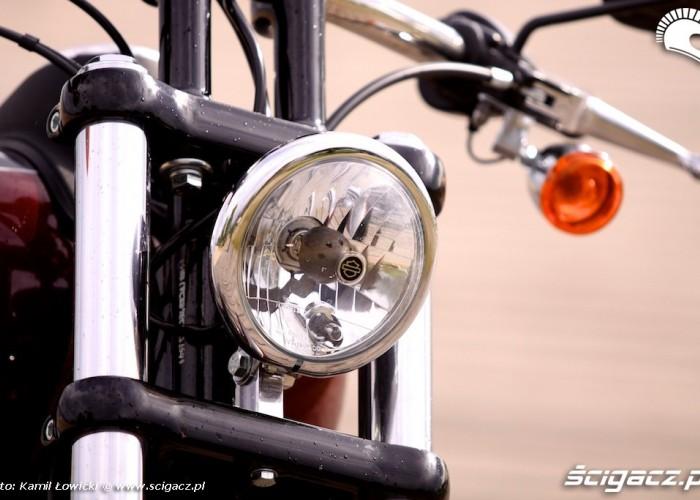 Lampa przednia Harley Davidson Street Bob Special Edition