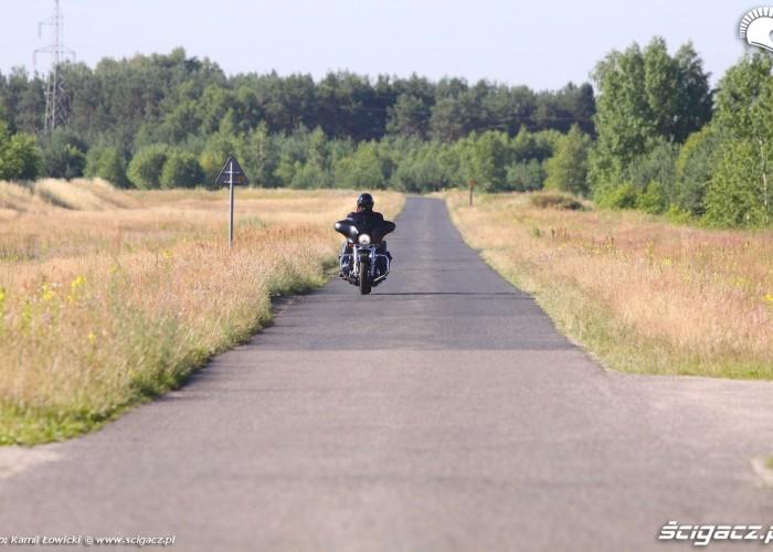 Harley Davidson Street Glide 2014 w trasie