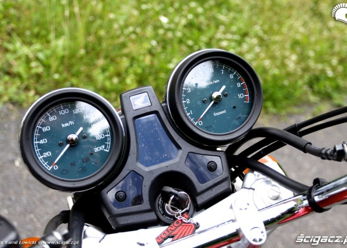 Honda Cb 1100EX zegary