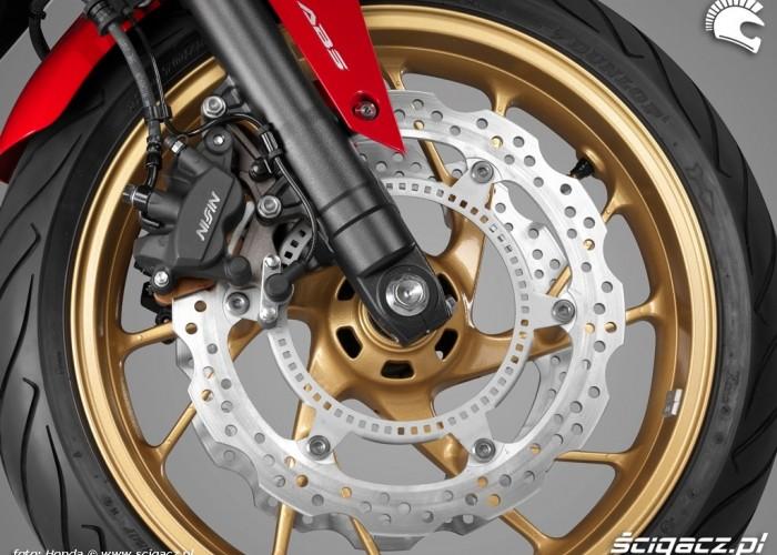 Hamulce Honda CB650F 2014