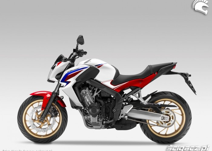 Honda CB650F 2014 Tricolore