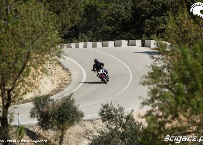 Na trasie Honda CB650F 2014