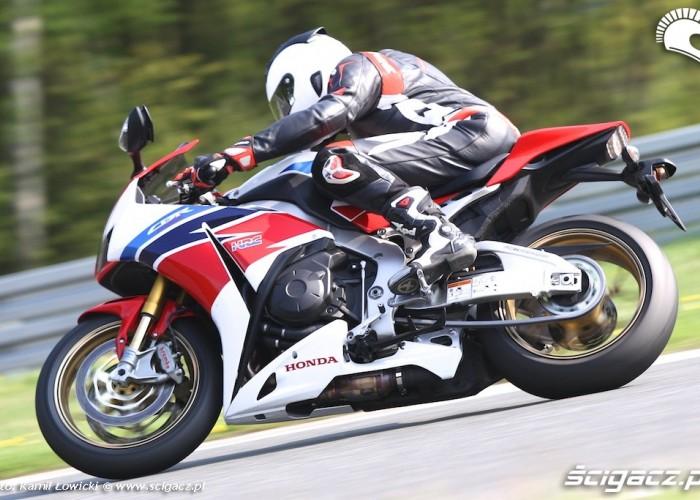 Honda CBR 1000 RR SP 2014 Tor Poznan
