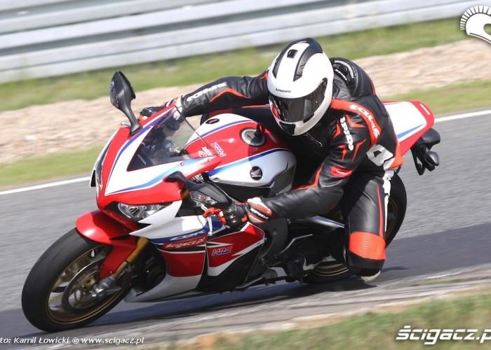 Honda CBR 1000 RR SP 2014 Tor Poznan Slawinski