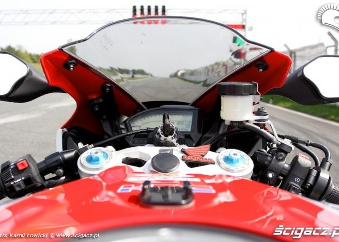 Kokpit Honda CBR 1000 RR SP