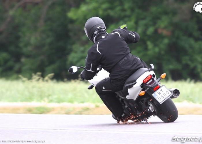 Iskry Nowa Honda CTX700 2014