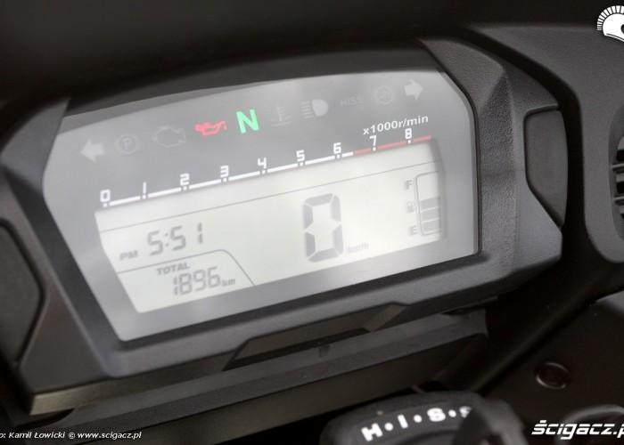 Wyswietlacz Honda CTX700
