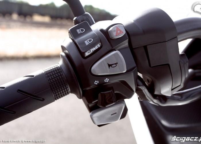 Zmiana biegow Honda CTX700