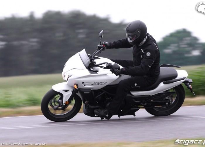 pochylenie Nowa Honda CTX700 2014