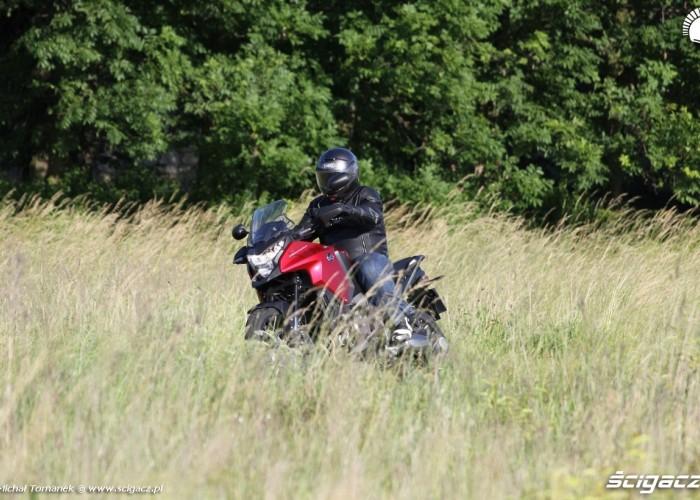 Crosstourer w polu
