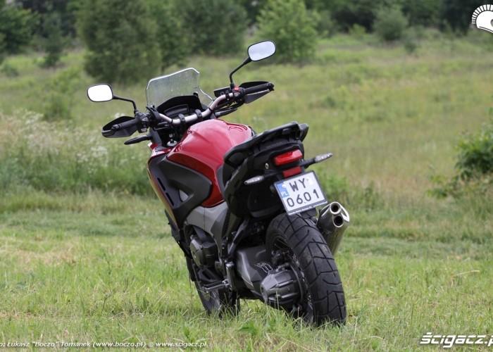 tyl Honda Crosstourer DCT