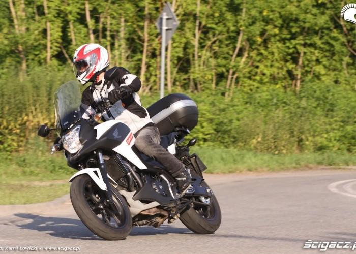 Honda NC 750 X 2014 jazda