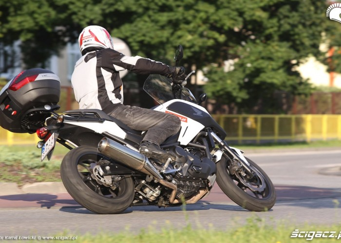 W zlozeniu Honda NC 750 X 2014