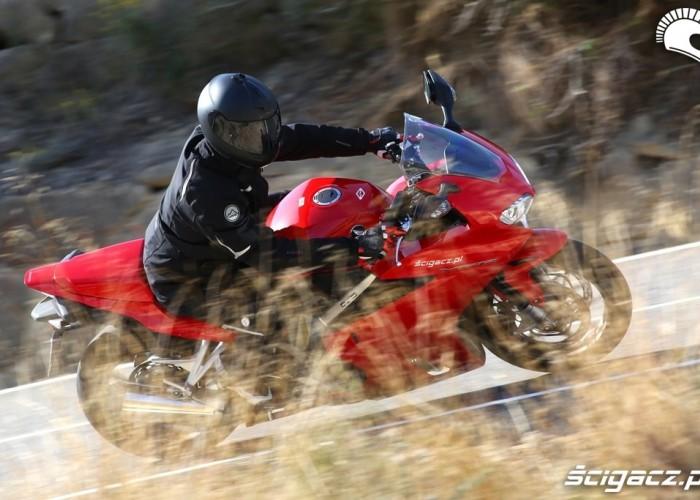 Honda VFR akcja