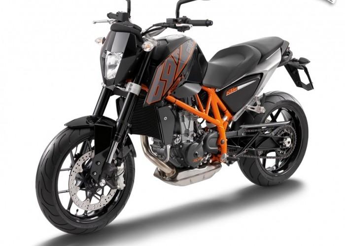 Nowy KTM 690 Duke 2014 czarny