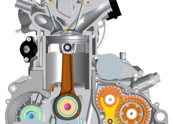Silnik LC4 690 Duke 2014