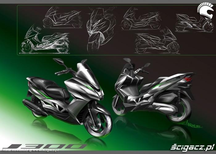 Kawasaki J300 2014 grafika