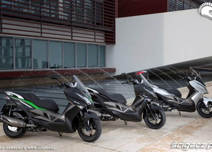Kolorystyka Kawasaki J300 2014